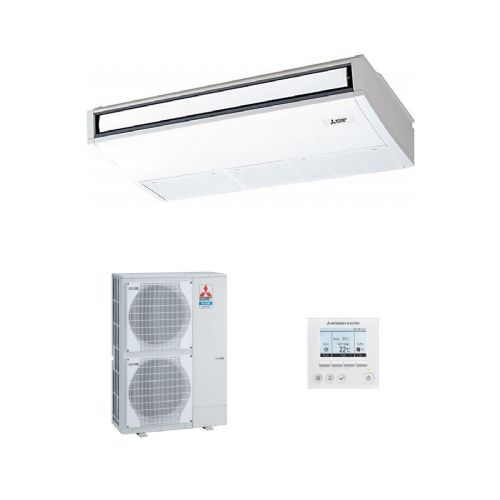 Mitsubishi Electric Air Conditioning PCA-M140KA Ceiling Mounted Inverter Heat Pump 14Kw/48000Btu R32 A++ 240V~50Hz